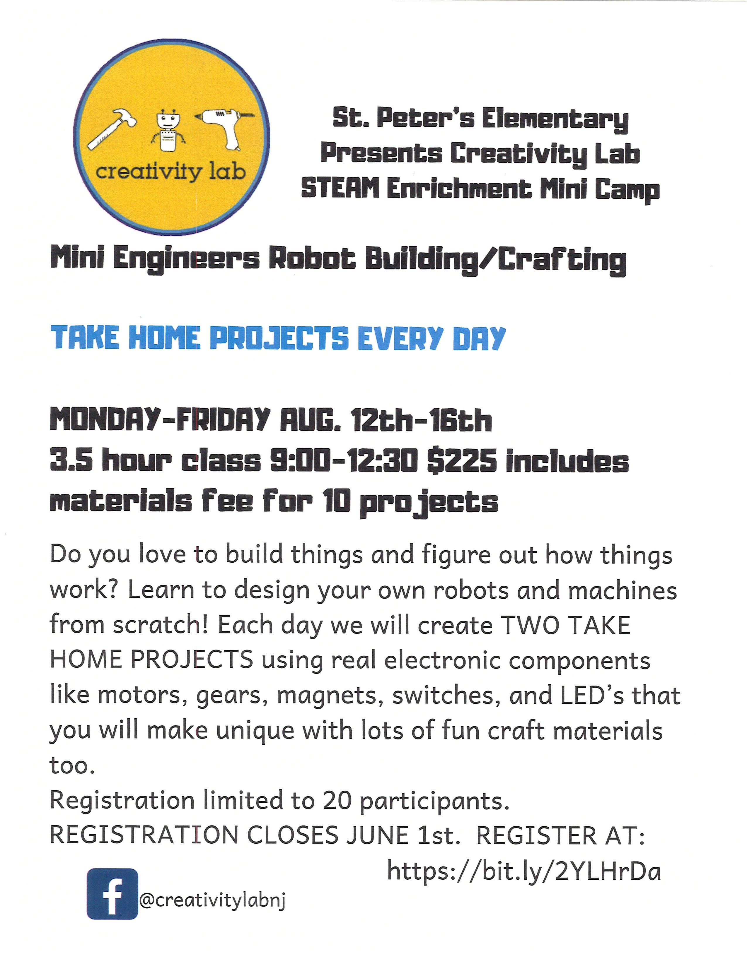 Mini Engineers, Robot Building/Crafting