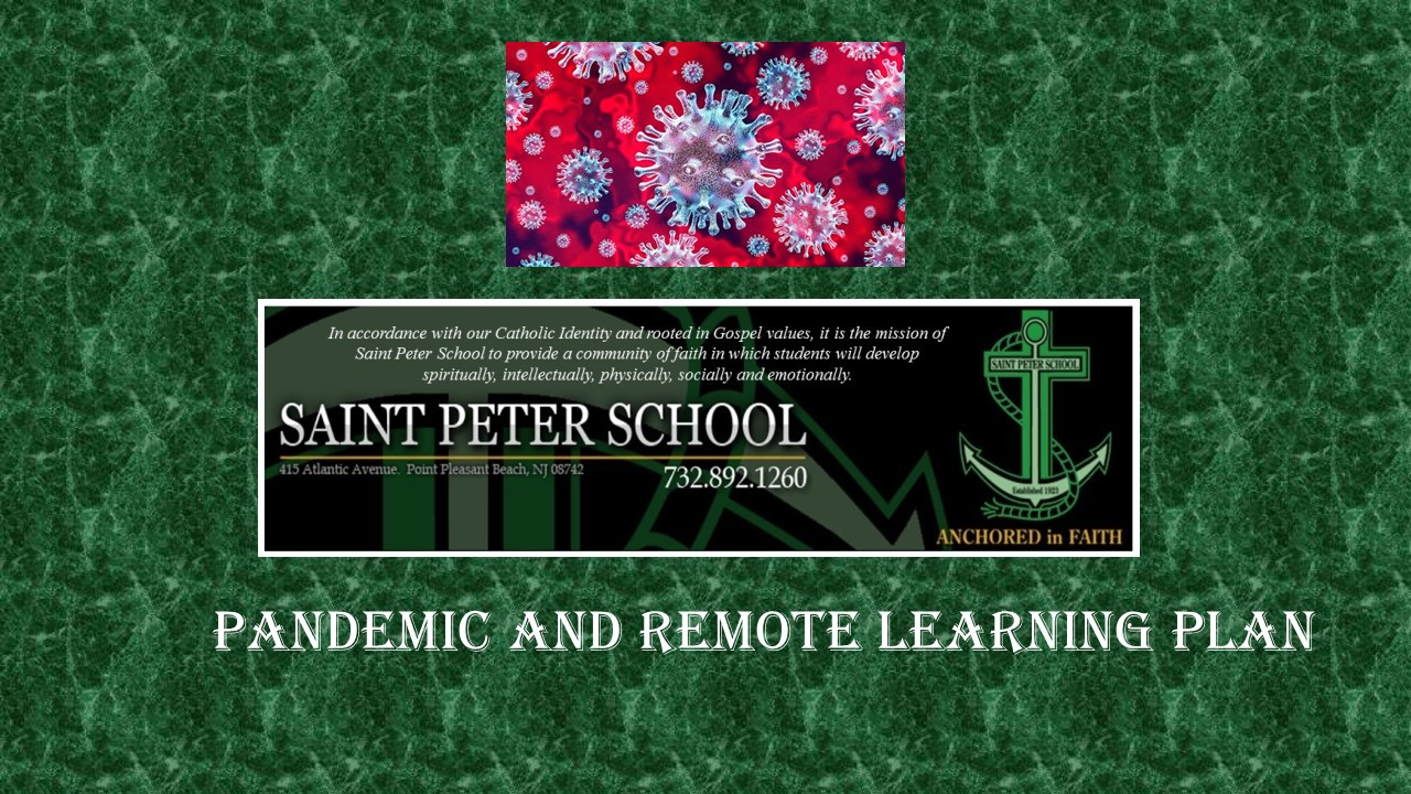 REMOTE LEARNING PLAN
