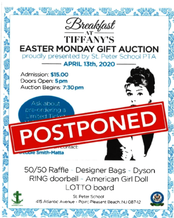 Easter Monday Gift Auction